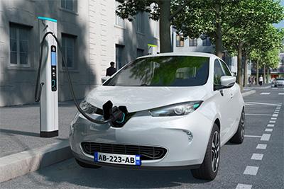 D'ici l'été 2022, le Grand Paris comptera plus de 3000 bornes de recharge pour voitures électriques.